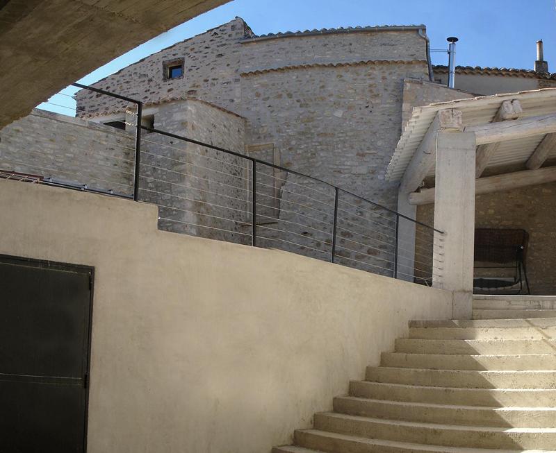 Virgile Disse, architecte de mas provençal (mais aussi de maison en pierre et d'architecture contemporaine)…