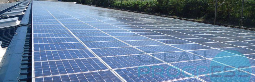 Clean Progress est une entreprise de nettoyage de panneau solaire à votre disposition