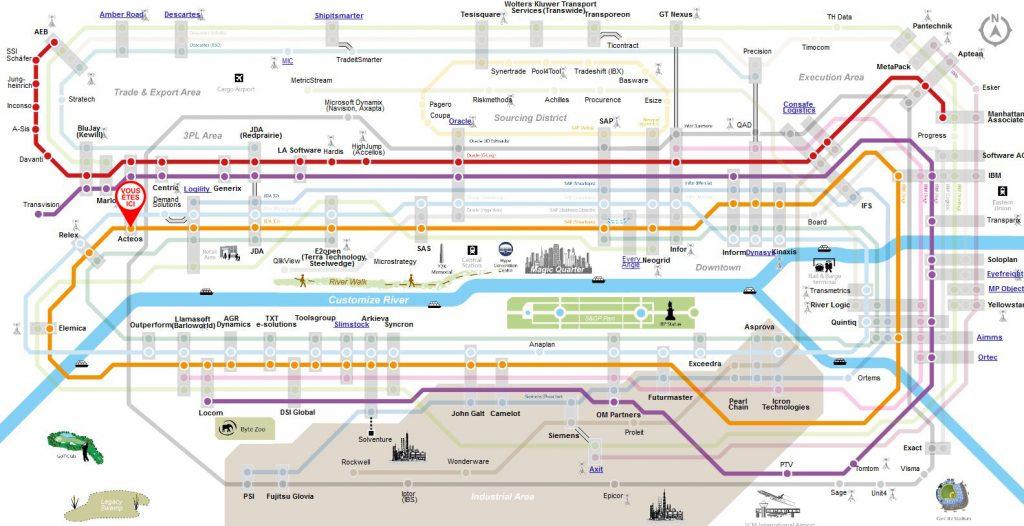 Le système WMS figure sur la carte de Supply Chain Media