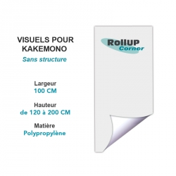 Impression grand format - PLV Rollup Corner